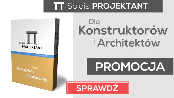 Promocja - Soldis PROJEKTANT
